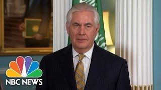 Rex Tillerson Finally Answers One Of Andrea Mitchell