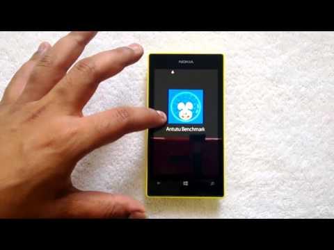 Nokia Lumia 525 Benchmark Scores