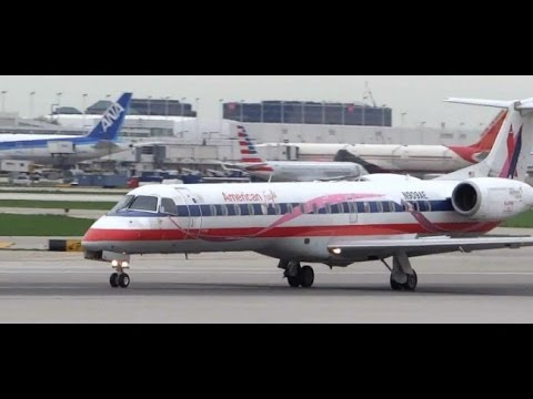 Overcast Magic ;-)  HD Plane Spotting Chicago O'Hare International Airport