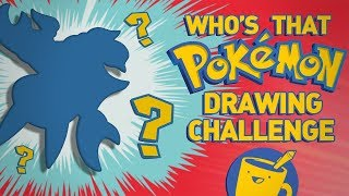 Who's That Pokémon? Drawing Challenge