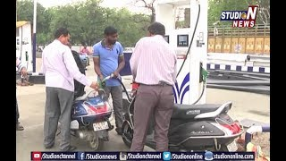 Petrol and Diesel Price Reach High in Hyderabad