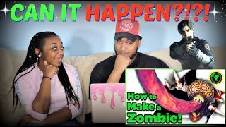 "Game Theory ""Resident Evil's Zombie Outbreak Closer Than You Think"" REACTION!!!"