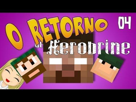 Ep 4. Minecraft: O Retorno de Herobrine! (Com o mano Monark e Nilce!)