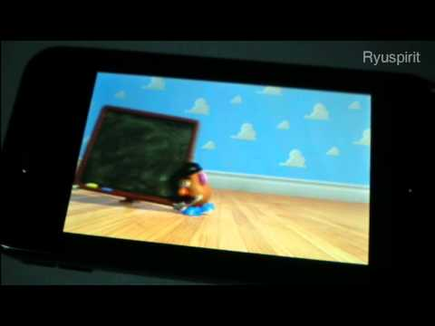 Samsung S5230 - Test Video Playing HD (H.264)