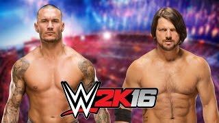 Randy Orton vs Aj Styles