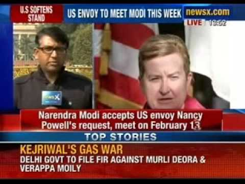 Breaking News: Narendra Modi accepts US envoy Nancy Powell's request, meet on February 13