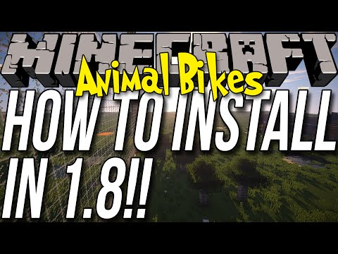 How To Install Animal Bikes In Minecraft 1.8