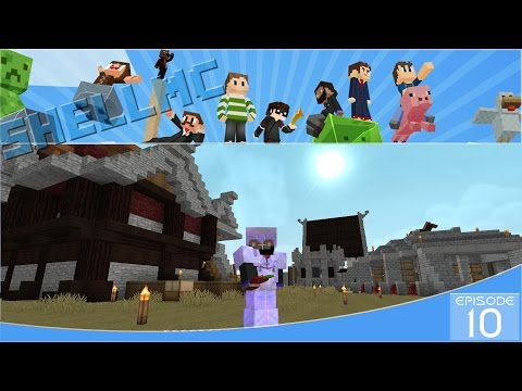 Minecraft ShellMC E10: Luxury Homes Part 2
