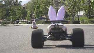 The Real Easter Bunny - Traxxas E-Revo