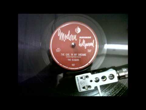 Jessie Belvin And The Cliques The Girl In My Dreams Modern 987 A
