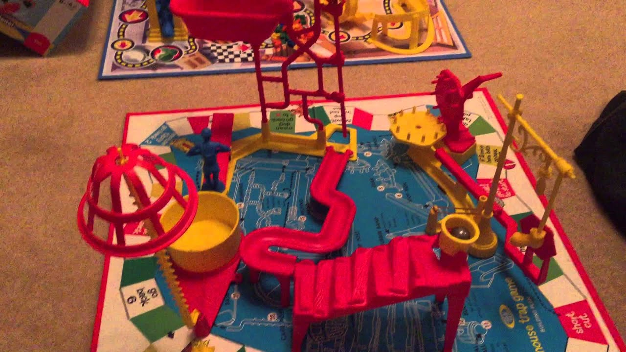 Mouse Trap Game Old Versus New