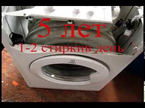 Indesit iwsb 5085 замена подшипников барабана