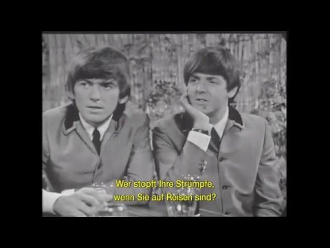Beatles - Funny Interview 1964
