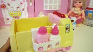 Xe cứu thương baby doll Bác Sĩ đồ chơi video cho trẻ em