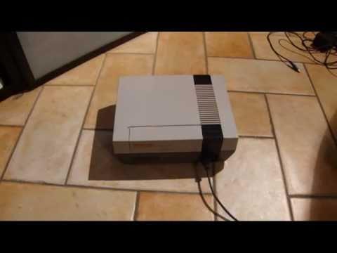 come collegare una vecchia console a tv lcd utilizzando cavo antenna - old console on lcd tv