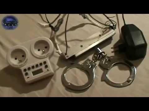 ElectroMagneticClamp self bondage - YouTube