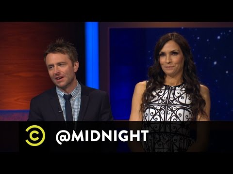 Famke Janssen Wants a Bond Guy - @midnight with Chris Hardwick