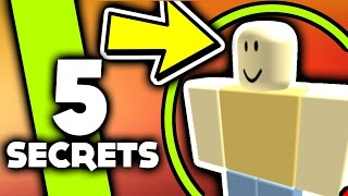 5 John Doe Secrets [ ROBLOX ]