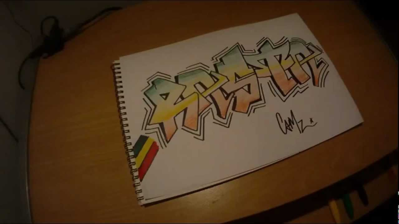Rasta Graffiti Art Rasta Graffiti Speed Art