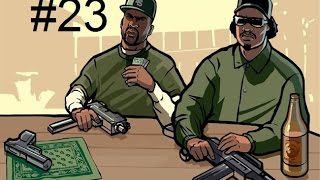 GTA San Andreas Walkthrough Part 23 Türkçe - psikopat cesar!