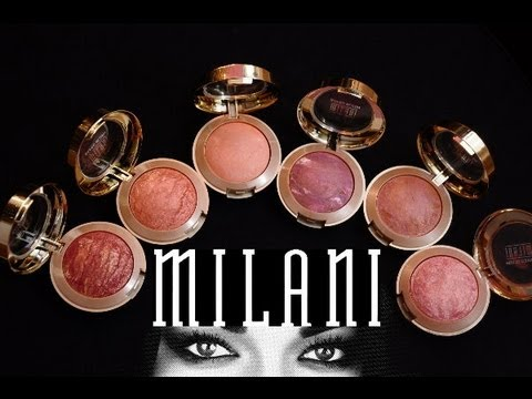 Milani Baked Blushes (review)