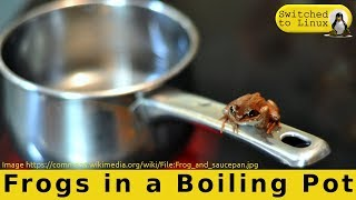 We Are Frogs in a Boiling Pot!