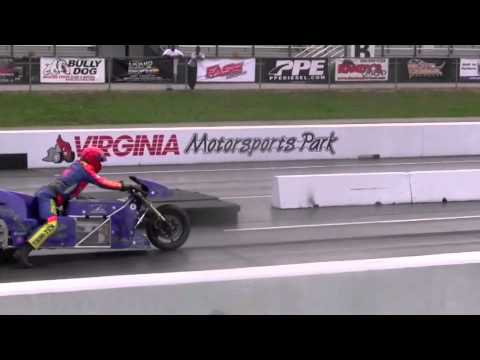 201 mph 6.94 sec Lawless OCC Electric Drag Bike Larry Spiderman McBride