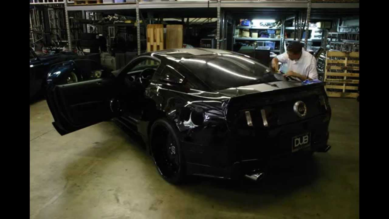 Nelly 39 s 2011 mustang 5 0 window tint youtube for 0 window tint