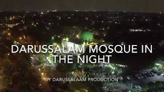 Darussalam Mosque in The Night