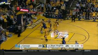 Kansas at West Virginia | 2016-17 Big 12 Men