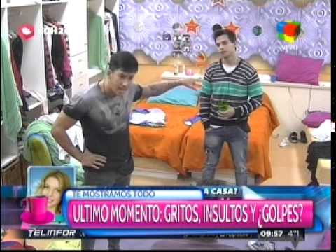 """""""Gran Hermano 2015"""": Fuerte pelea entre Nicolás y Eloy"""