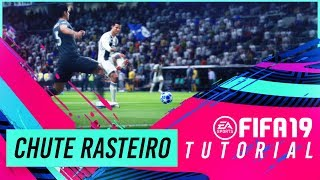 FIFA 19 | TUTORIAL CHUTE RASTEIRO | THE NEW DRIVEN FINISH TUTORIAL FIFA 19