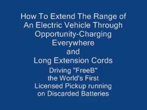 How to Extend the Driving Range of an Electric Vehicle