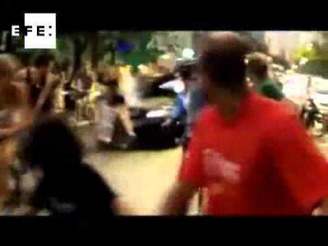 Se entregó brasileño que atropelló a quince ciclistas