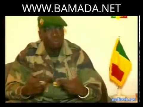 Amadou haya Sanogo sur la démission forcée du premier ministre Cheick Modibo Diarra