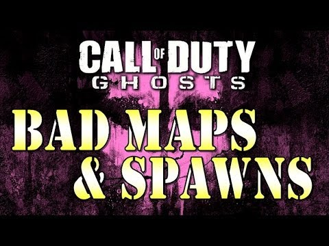 Call of Duty: Ghosts - Bad Maps, Broken Spawns, & Other Frustrations [Gameplay/Commentary]