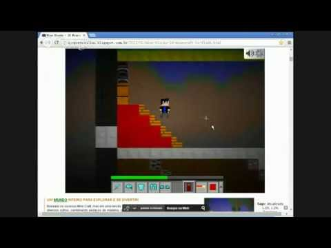Mine Blocks - 2D Minecraft in Flash