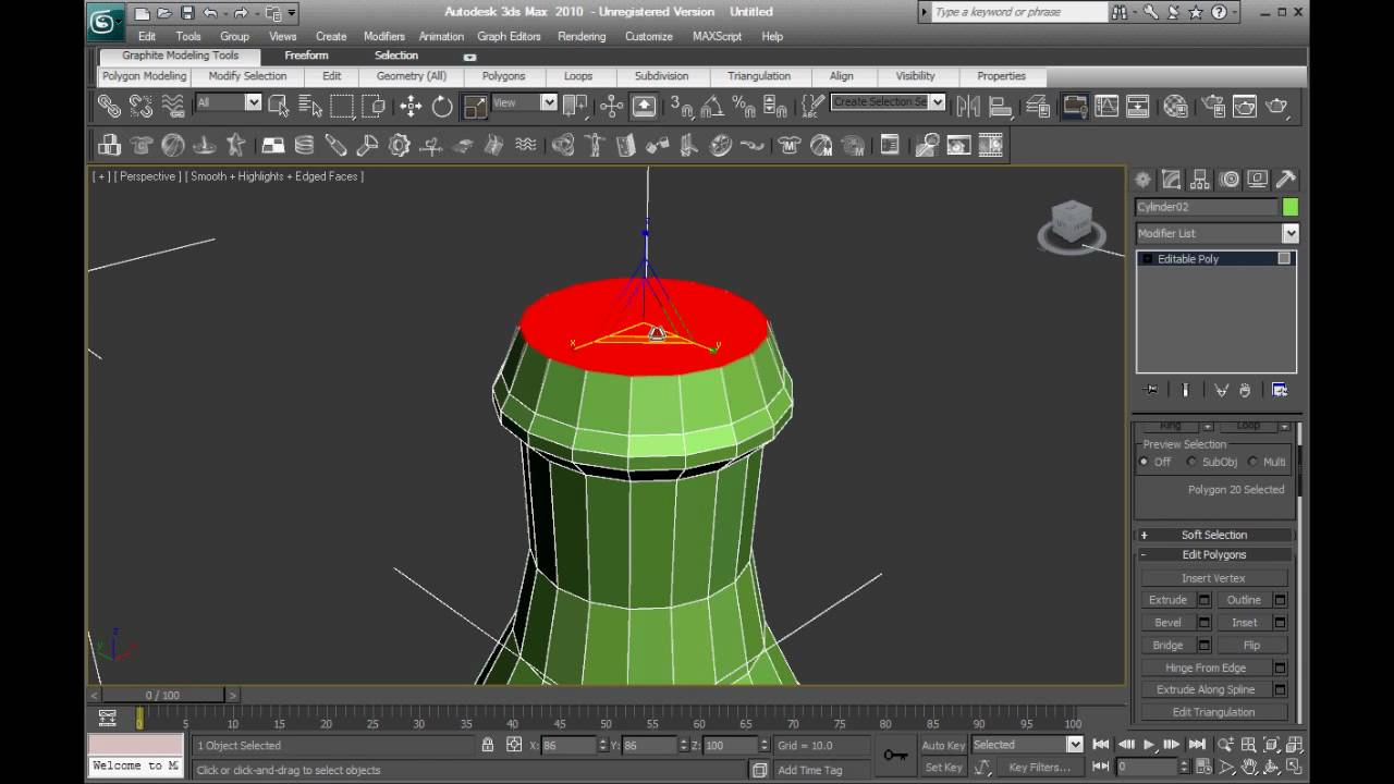 how to make a basic colosseum in 3ds max