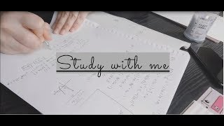 | Study with me | - 2 hours real time with music (Pomodoro)