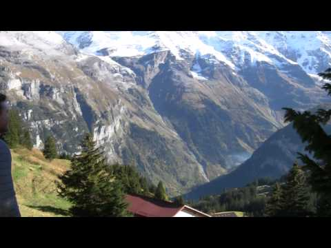 The Swiss Alps Part 1: Arrival by Train, Gimmelwald, and the First Hike
