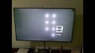LG TV SCREEN WHITE SPOTS