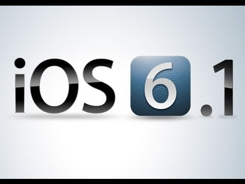 FR  Installer l'ios 6.1 sur son iPhone 5/4S/4/3GS . iPad ou sur son iPod touch !
