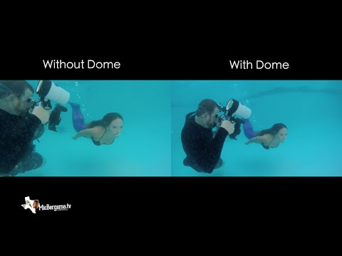 GoPro Underwater Dome / no Dome Comparison - GoPro Tip #510