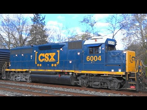 CSX Q398-14 With Some Good EMD Power