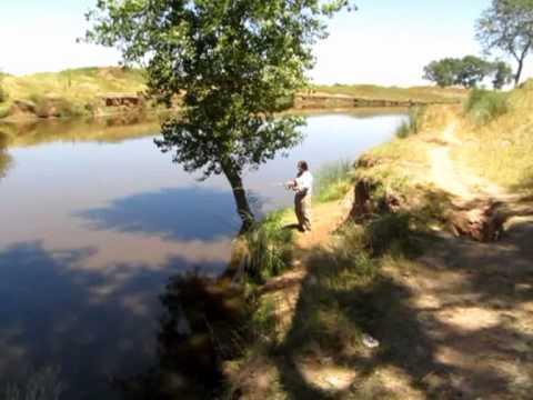 Pescando en Mechita 2013