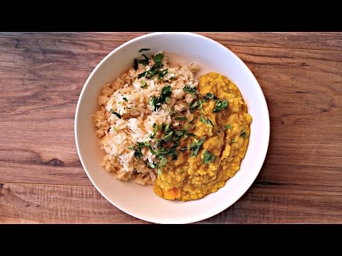 Easy Vegan Dal -  HCLF & Healthy