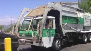 Crane Carrier Company Maxon Legal One Front Loader