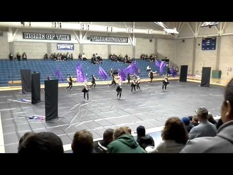 Tulare Union Winterguard Clovis East High School