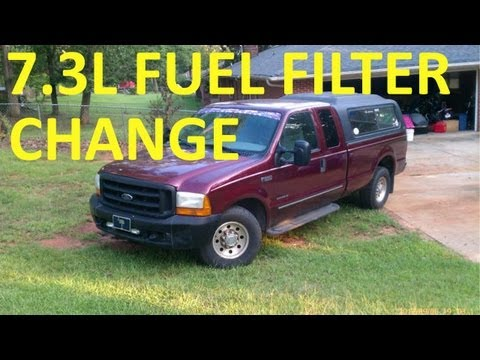 Fuel Filter Change Ford Diesel
