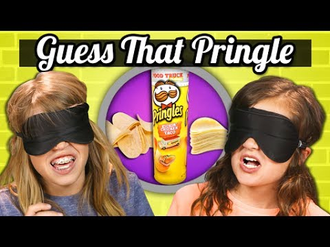 GUESS THAT PRINGLES CHALLENGE! | Kids Vs. Food